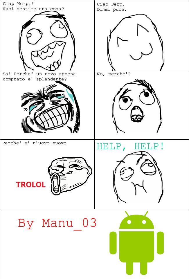 Spero vi faccia ridere xD. By Manu_03 - meme