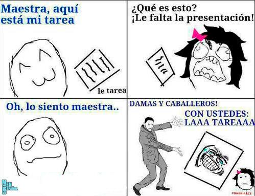 La tarea! - meme