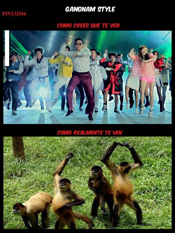 El Oppa Gangam Style pasó de moda hace un... - meme