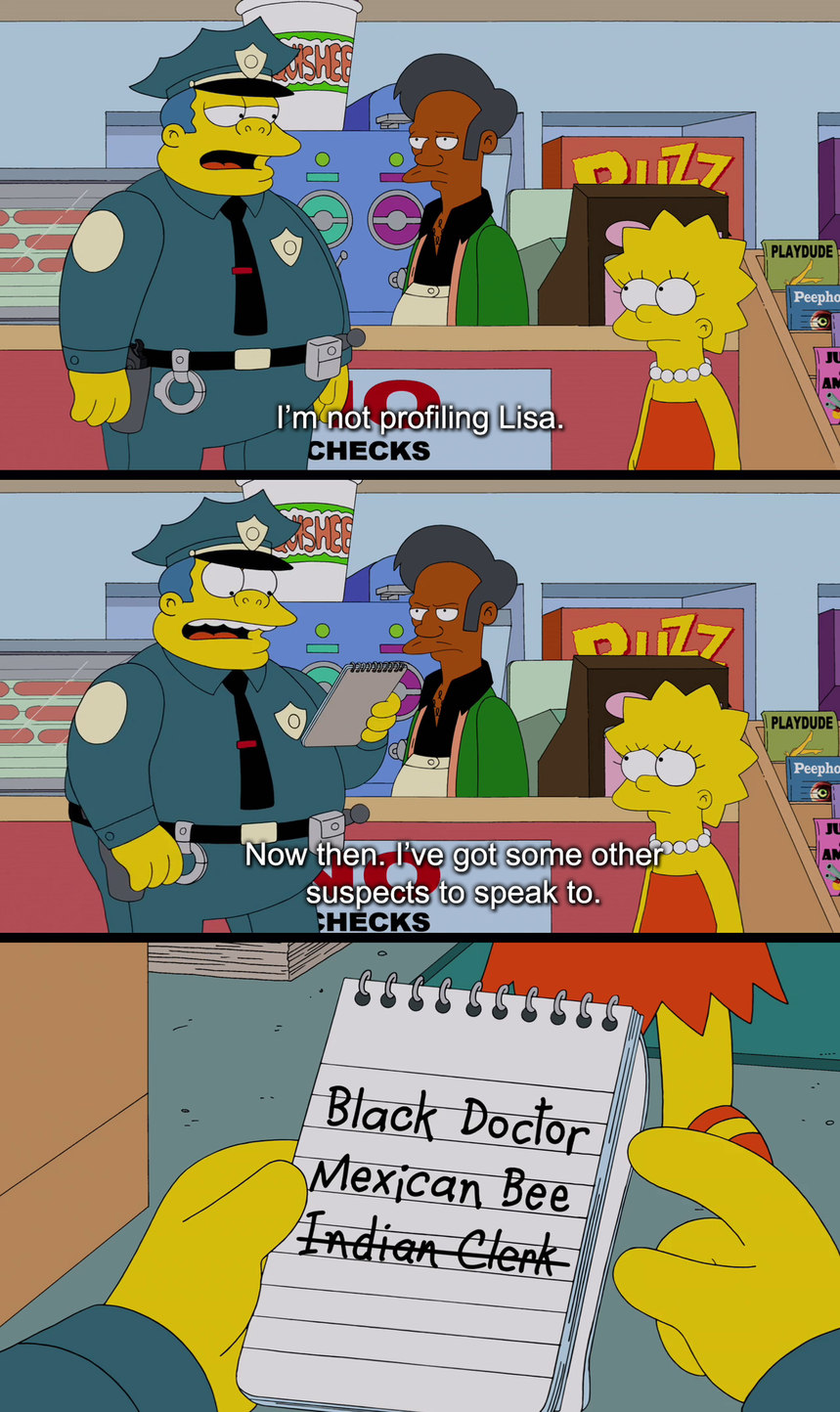 Minorities + Wiggum = Stupidity - meme