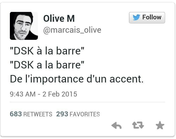 Faut faire attention aux accents.. - meme
