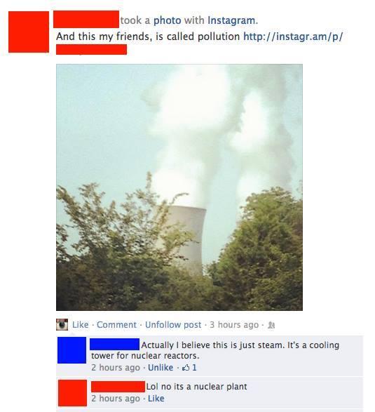 Lol no its a nuclear plant - meme