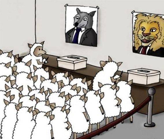 political system in a nutshell - meme