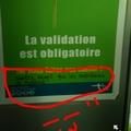 Dans le tram à Bordeaux...