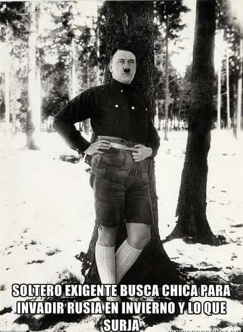 Hitler si que era un galán :3 - meme
