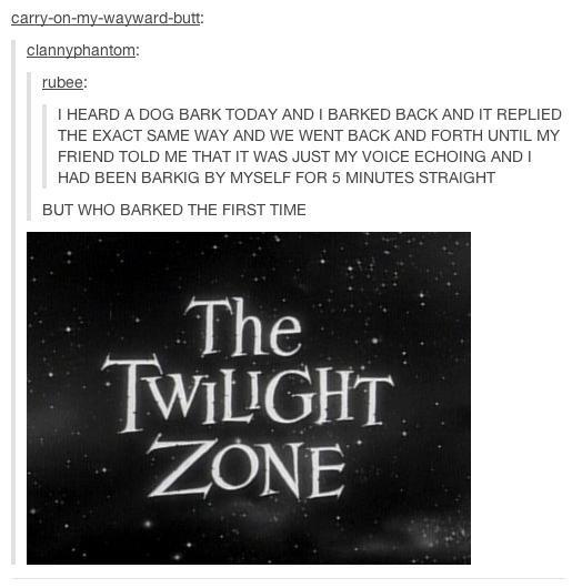 Twilight zone - meme