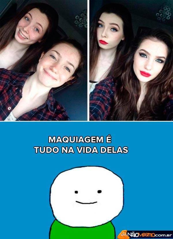 maquiagem - meme
