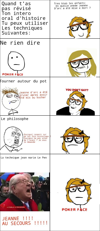 Jeanne !!!! AU SECOURS !!!! - meme