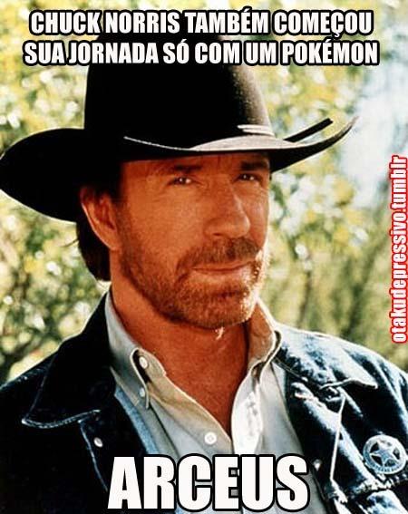 Chuck Norris contou até o infinito. Duas vezes.  - meme
