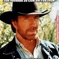 Chuck Norris contou até o infinito. Duas vezes.