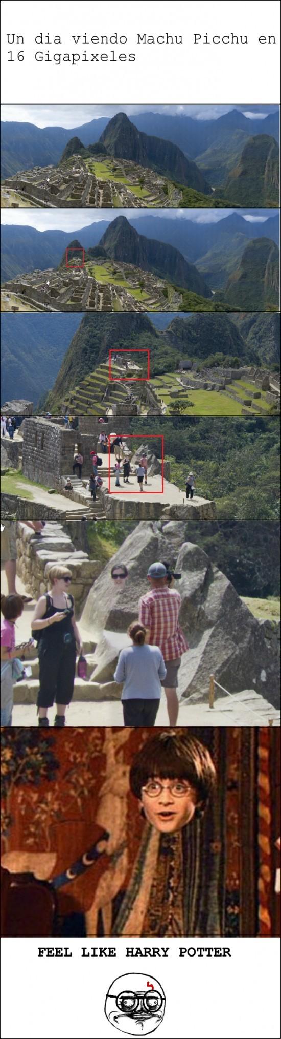 Machu Picchu en 16 Gigapixeles - meme
