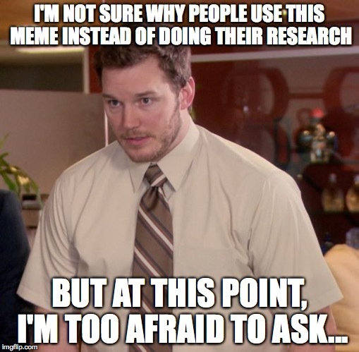 Just do your research... :annoyed: - meme