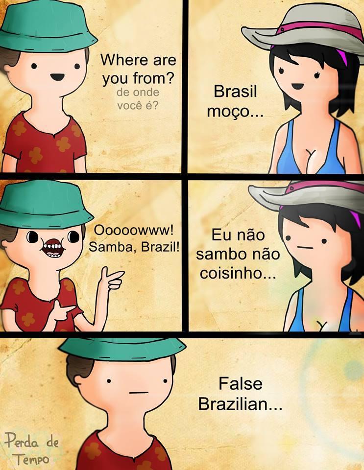 Fake Brazil - meme