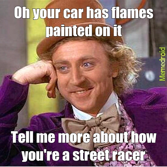 Wonka racer - meme