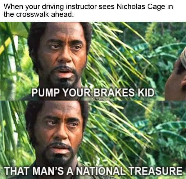 tropic thunder - meme
