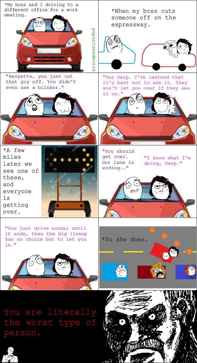 bad driver - meme