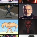 Si te gustan los villanos de Star Wars eres...