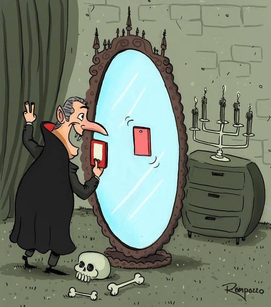 Selfie Dracula - meme