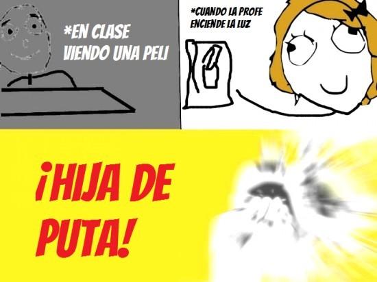 Luces - meme