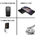 les différents points de vues au sujet des phones