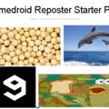 Memedroid Reposter Starter Pack