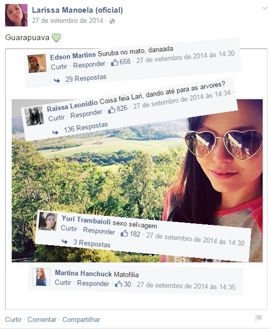 Comentários na página da Maria J. Pt. 8 - meme