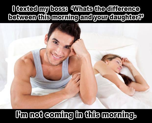 Texted Boss - meme