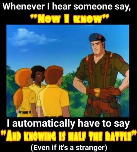 Retro G.I Joe is Everything. - meme