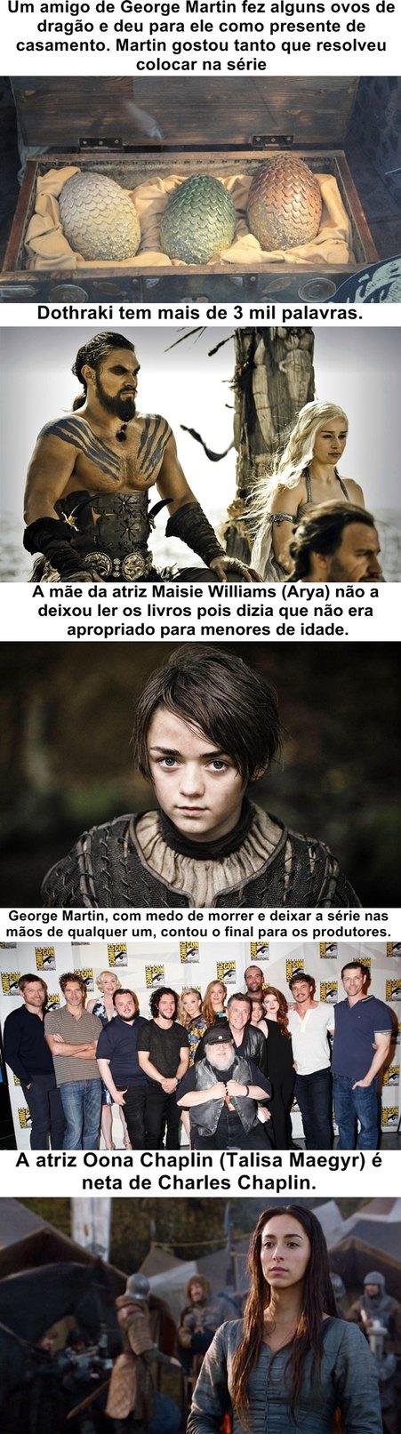 Curiosidades Game of Thrones pt. 4 - meme