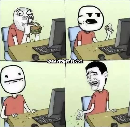 El escritorio Siempre Tiene que estar Limpio - meme