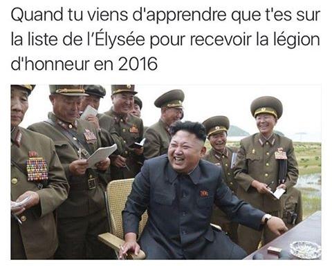 Légion d'honneur - meme