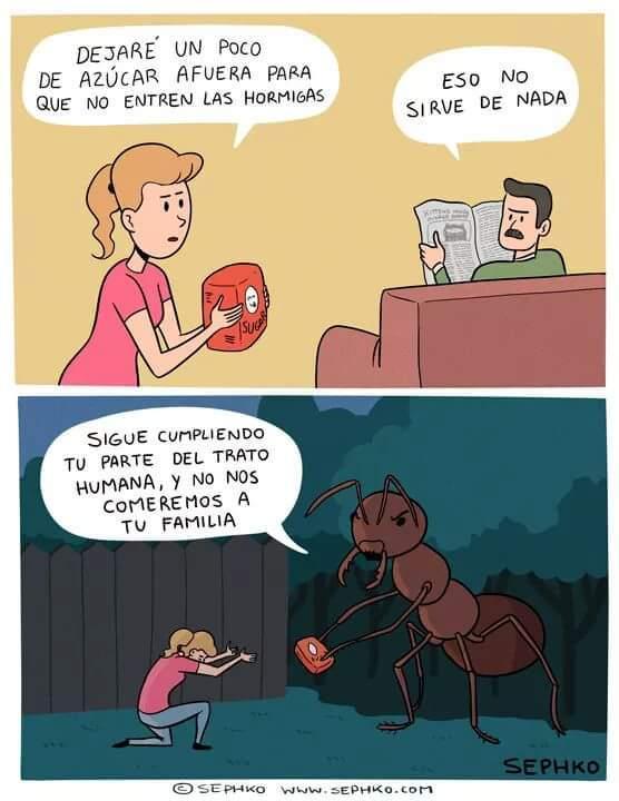 hormigas lokillas - meme