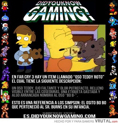 Far Cry 3 y Los Simpson, curiosa referencia - meme