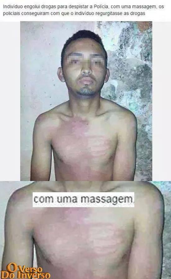 Massagem - meme