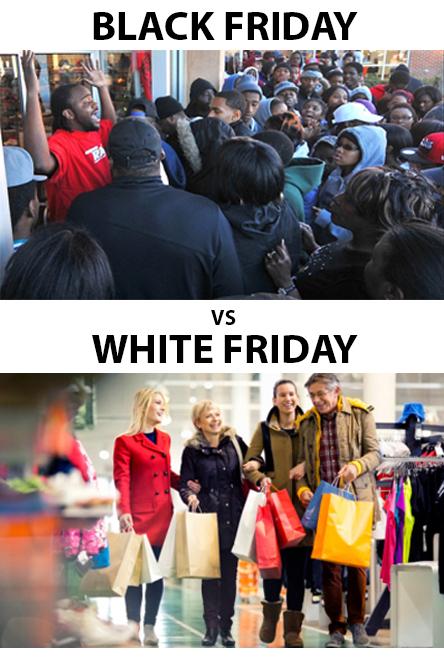 Black & White Friday - meme