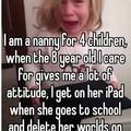 How dare she??!