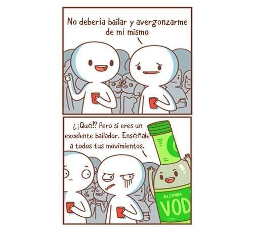 bailar borracho - meme