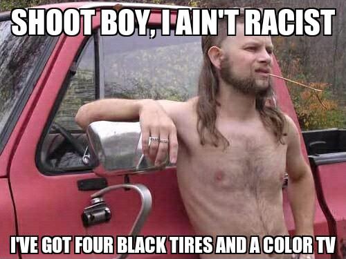 i aint racist - meme