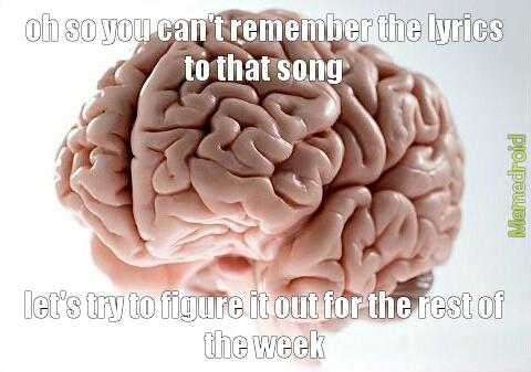 dam u brain - meme