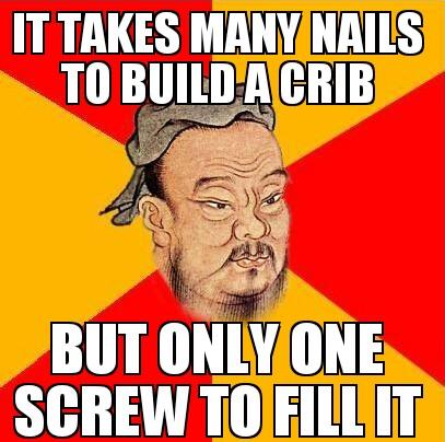 Confucius say - meme