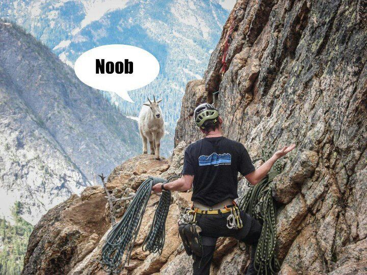 Funny Hiking Meme : Noob hiker meme by easymikey2 : memedroid