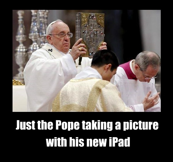 just the usual pope francis - meme