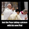 just the usual pope francis