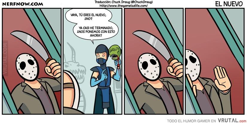 Bienvenido a Mortal Kombat, Jason - meme