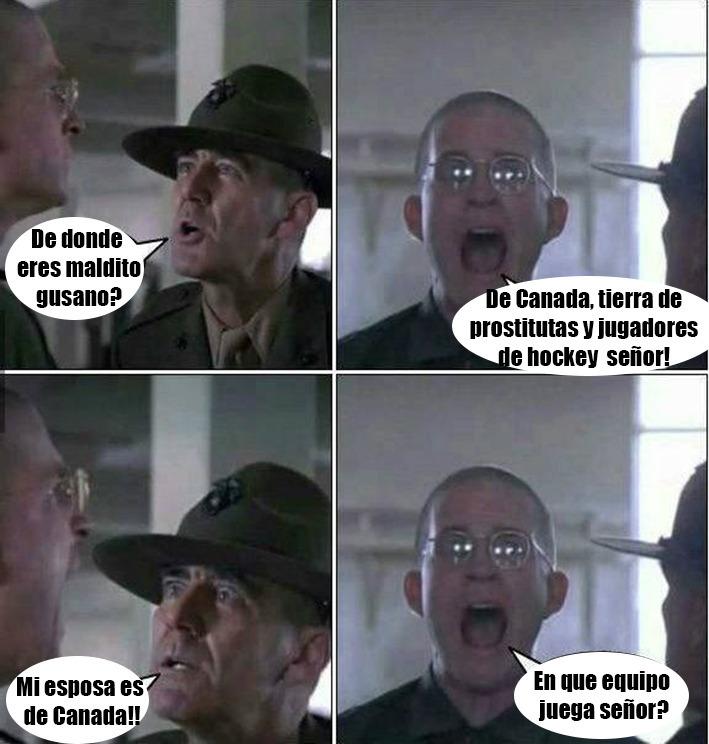 De Canadá - meme