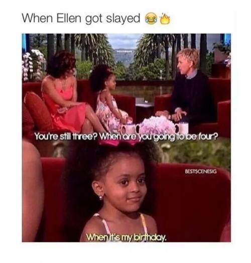 Queen got slayed! - meme