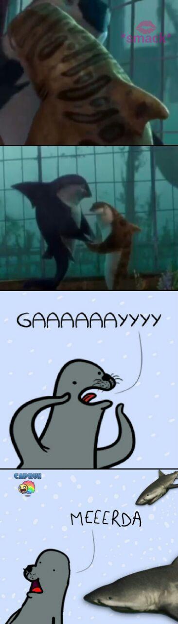 shark tale babe. ~Caprun - meme