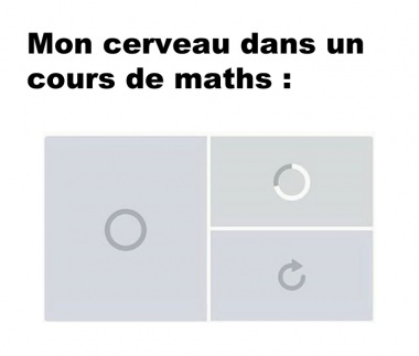 Les maths - meme