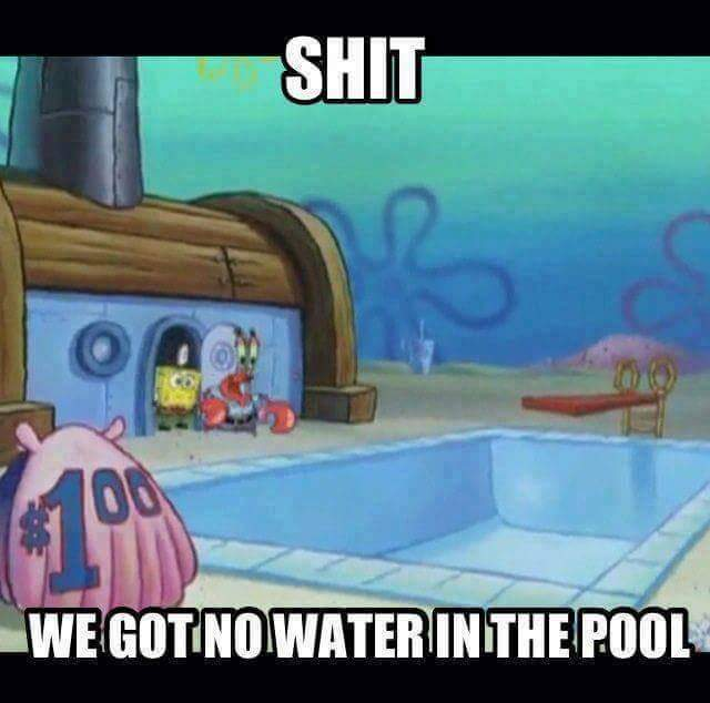 everyone's high underwater - meme