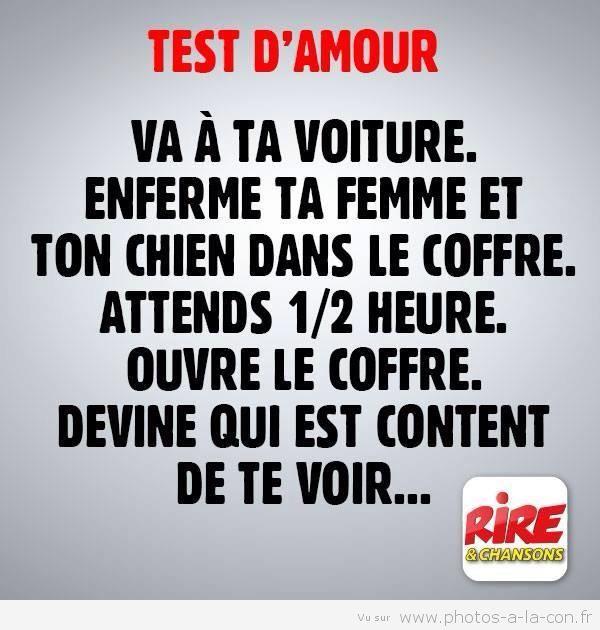 test d'amour - meme